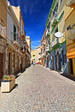 Sardinia - main street Royalty Free Stock Photo