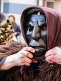 Sardinia. Mamoiada. Carnival Royalty Free Stock Image