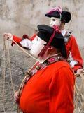 Sardinia. Mamoiada. Carnival Stock Photos