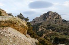 Sardinia, Monte Fumai Royalty Free Stock Images