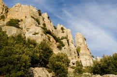 Sardinia, Monte Novo San Giovanni Royalty Free Stock Image