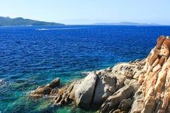 Sardinia morze Fotografia Royalty Free