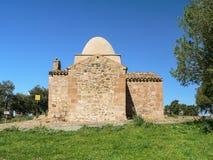 sardinia Nuxis Arkivbild