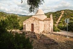 Sardinia. Nuxis Royalty Free Stock Photos