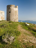 Sardinia, old spanish tower of Seu Royalty Free Stock Image