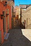 Sardinia - old town in Carloforte Stock Photos