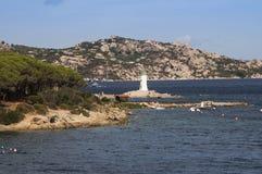 Sardinia palau porto faro Royalty Free Stock Photo