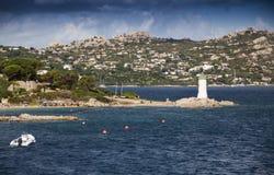 Sardinia Palau Porto Rafae Imagem de Stock Royalty Free
