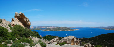 Sardinia Panorama Stock Images
