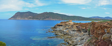 Sardinia panorama landscape, Italy Stock Photos