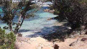 Sardinia pevero bay stock video