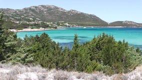 Sardinia pevero bay stock video footage
