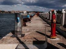 SARDINIA porto cervo port Royalty Free Stock Photo