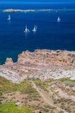Sardinia. Portoscuso Royalty Free Stock Photo