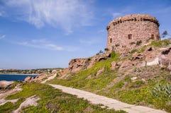 Sardinia. Portoscuso Stock Image