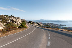 Sardinia Road Stock Photography