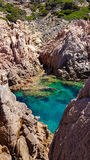 Sardinia rocks at Costa paradiso Royalty Free Stock Image