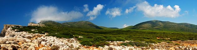 Sardinia's Landscape Stock Image