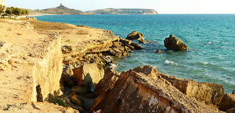 Sardinia, San Giovanni di Sinis Royalty Free Stock Photography