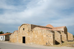 Sardinia,San Giovanni di Sinis church Royalty Free Stock Photo