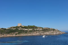 Sardinia at Santa Teresa di Gallura, Italy. Royalty Free Stock Photography