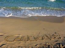 Sardinia sea castiadas Royalty Free Stock Images