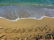 Sardinia sea castiadas Royalty Free Stock Photography