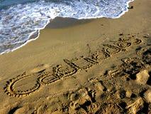 Sardinia sea castiadas Royalty Free Stock Image