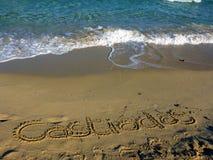 Sardinia sea castiadas Stock Photography