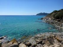 Sardinia sea rock Royalty Free Stock Photography