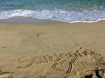 Sardinia sea sardegna Stock Photo