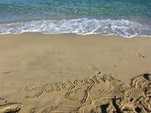 Sardinia sea sardegna Royalty Free Stock Photos