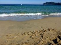 Sardinia sea sardegna Stock Image
