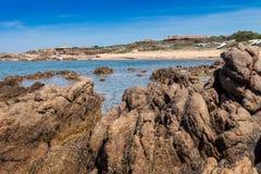 Sardinia Stone Beach Stock Photos