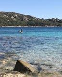 Sardinia strand royaltyfri fotografi