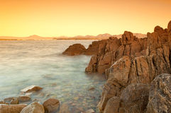 Sardinia sunrise Royalty Free Stock Photos