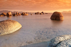 Sardinia sunrise Stock Image