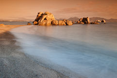 Sardinia sunrise Royalty Free Stock Images