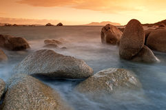 Sardinia sunrise Royalty Free Stock Photo