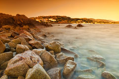 Sardinia sunrise Royalty Free Stock Photography