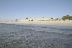 Sardinia. Teulada. Porto Pino Bay stock video footage