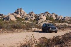 Sardinia Tourism. The Sardinia island and for off-road Stock Image