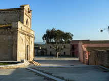 Sardinia. Tratalias. Old village Stock Photography
