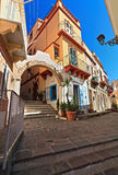 Sardinia - urban view in Carloforte stock photos