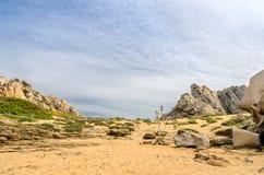 Sardinia, Valley of the Moon Royalty Free Stock Photo