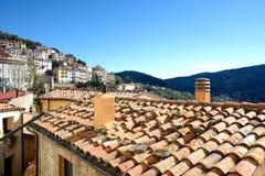 sardinia Village de Seui Image libre de droits
