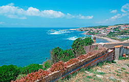Sardinia west coast Royalty Free Stock Photos