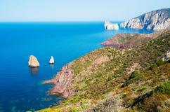 Sardinia west coast Stock Images