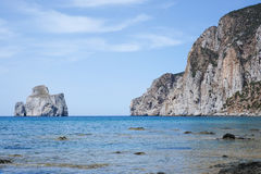 Sardinia west coast Royalty Free Stock Photo