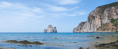 Sardinia west coast Royalty Free Stock Images